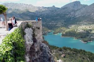 Guadalest, een van de toeristische attracties in de buurt van Benidorm